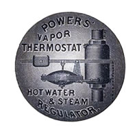 powers regulator vapor thermostat 1880s