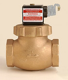 Gould Valve Bronze Air or Water Solenoid Valves M-1-3EP