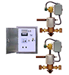 multiple valve systems with timers