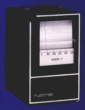 Rustrak Strip Chart Recorder