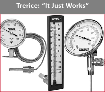 Trerice Thermometers and Temperature Instruments